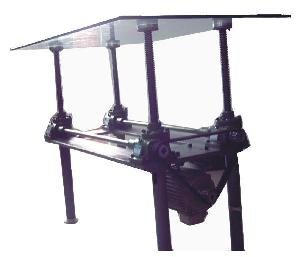 worm screw table lift