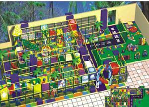 indoor playground children park amusement equipment 9 8405