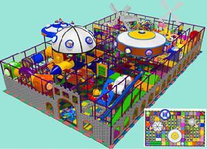 indoor playground children park amusement equipment 9 8601