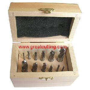 12 hss ball head mills wooden box