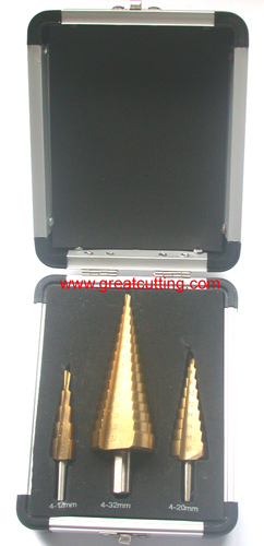 3 step drill aluminum box