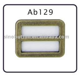alloy label belt buckle metal