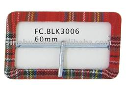 fabric covered buckles