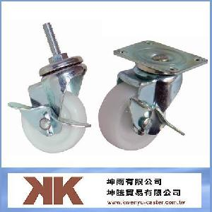 nylon light duty casters