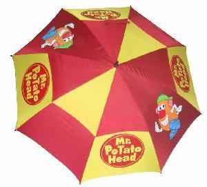 golf umbrella canopy auto open anti uv layer