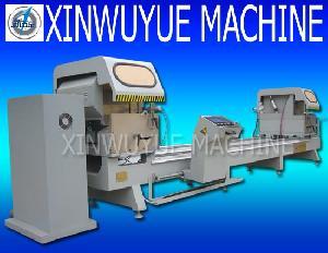 aluminum pvc vinly window machine