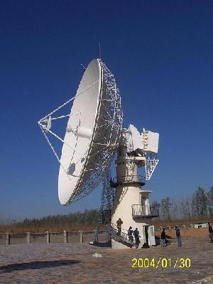 16m earth station antenna