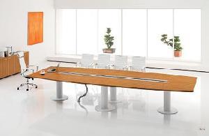 conference table zebra veneer