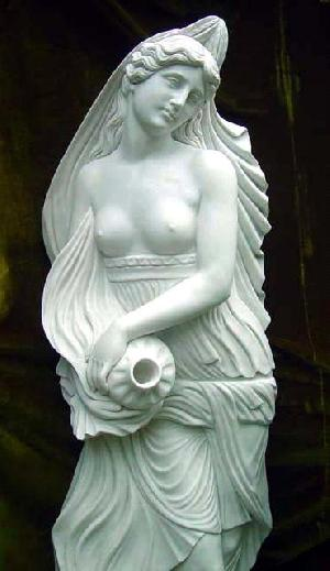 marble angel sculpture