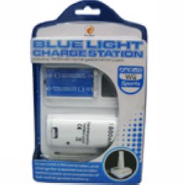 wii blue light charge station