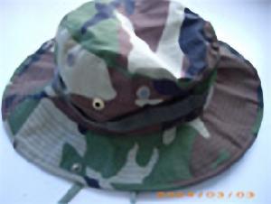 military camouflage bdu cap bucket hat