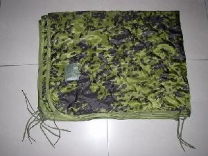 military camouflage poncho liner