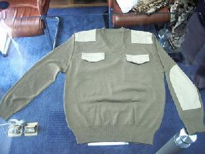 military camouflage pullover sweater jersey