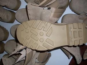 military desert boot