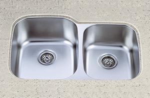 american undermount bowl sink