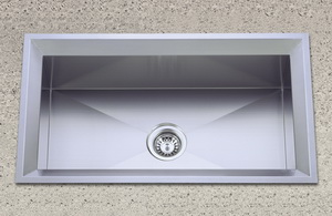 grade hand stainless steel sink