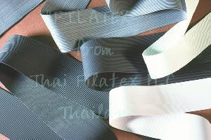 talcum round bare rubber thread extruded latex