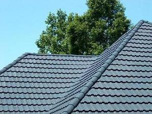 grey stone coated metal roofing tiles