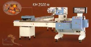horizontal packaging machine km 2500 r biscuit
