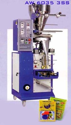vertical packaging machine 3 side seal aw 6035 3ss powder seed granule