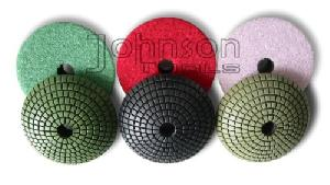 100mm diamond convex polishing pads