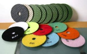 100mm diamond dry polishing pads