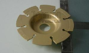 105mm laser welded cup wheel blades