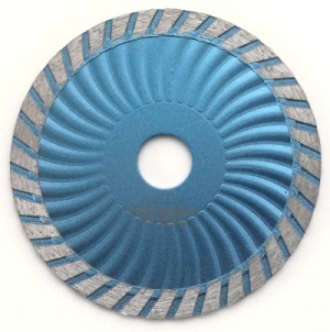 115mm sintered turbo wave blades