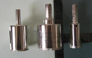 electroplated diamond core bits drilling glass