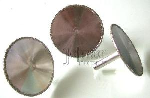 electroplated diamond mounted point's