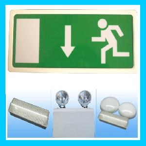 exit signs emergency light