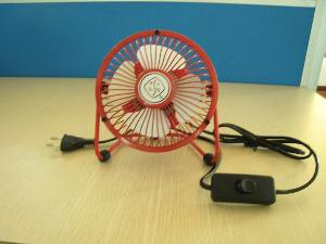 4u201c Table Fan Home Office Air Cooler