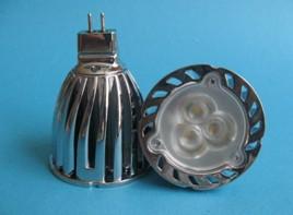 3x2w conduit mr16 ampoule projecteur haute puissance ultra lumineux lampe r�flecteur