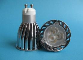 3x2w llevado gu10 bombilla luz de spot alta potencia ultra brillante sustituir halógenos