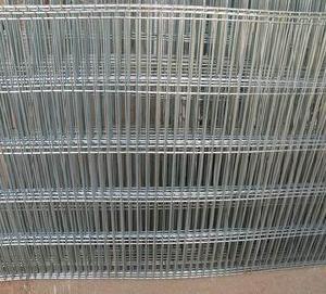 welded wire steel fence