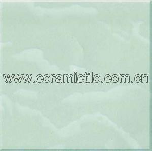 green sapphire polished porcelain tile floor