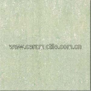 light green micro powder polished porcelain tile