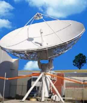 antesky 9m satellite antenna