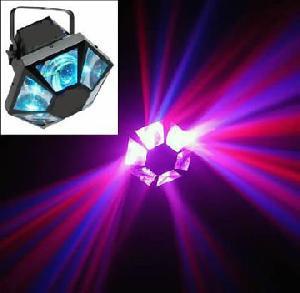 dmx rotating led moonflower light