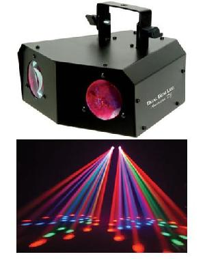 dual gem led dj lighting
