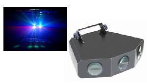 led tri gem light dj lighting