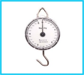 clock scale mechanical 5kg 10kg abs plastic cover steel hook handle calibrations