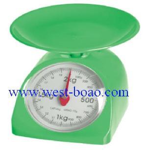 mechanical kitchen scale 2kg plastic