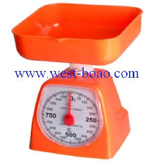 mechenical kitchen scales abs plastic 5kg