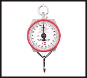 portable hook scale weighing apparatus 100kg kg lb ocs 105