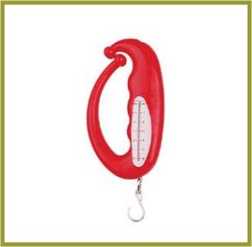 portable scale ocsa 102 3000g abs plastics iron hook