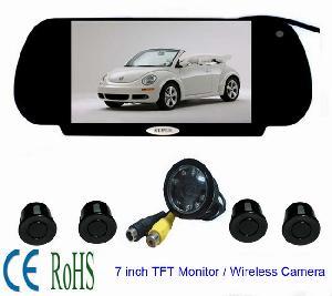 vehicle video reverse sensor parking rd 770sc4