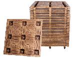 processed wood pallet
