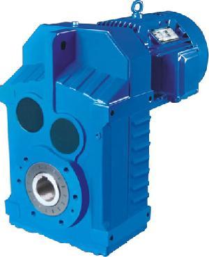 F Series Parallel Shaft Mounted Gearmotors Geared Motors Gear Box With Motor