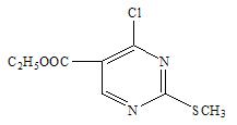 methylthio pyrimidne 5 carboxylat